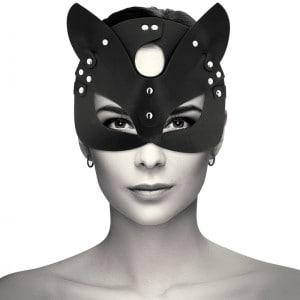 masque-en-cuir-avec-oreilles-de-chat-coquette-sur-mannequin