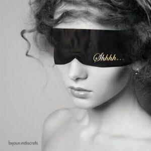 bandeau-noir-en satin-bijoux-indiscrets-porté