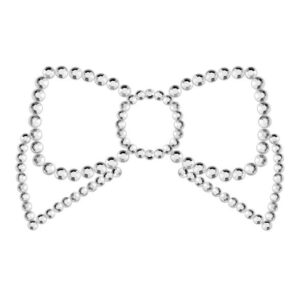 couvre-tétons-noeud-argent-bijoux-indiscrets