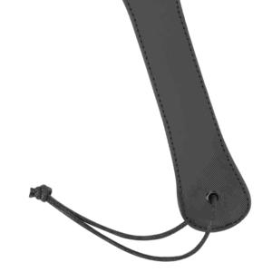 paddle-noir-cuir-végan-fetish-submissive-manche