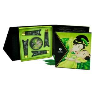 coffret-de-massage-au-parfum-thé-vert-exotique-shunga-emballage